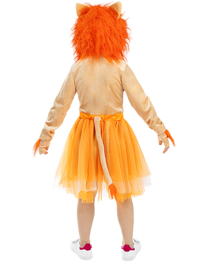 Детски костюм на лъвица