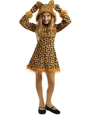 Leoparden Kostüm für Mädchen