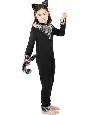 Costum de pisică pentru fete