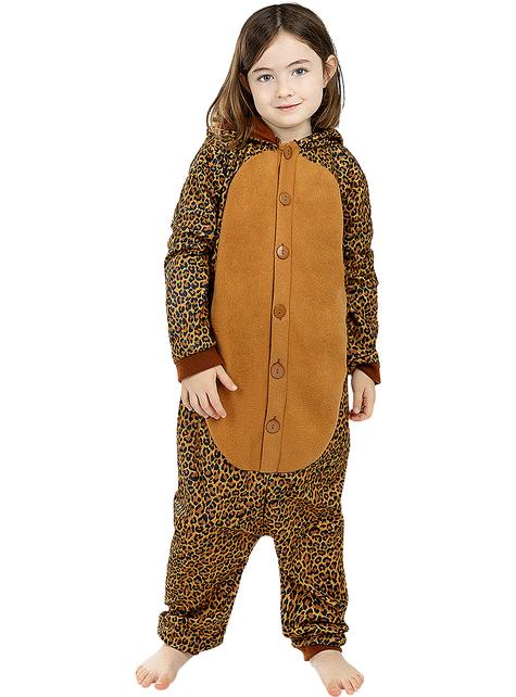 Onesie Leopard Costume for Kids