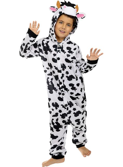 Onesie koeien kostuum voor kinderen