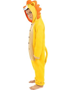 Costum de leu pentru copii