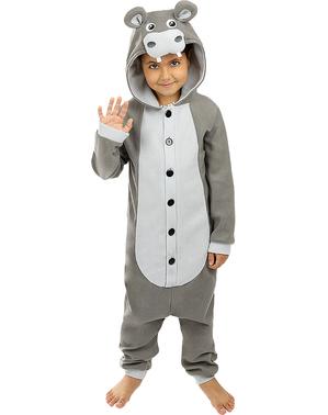 Déguisement hippopotame onesie enfant