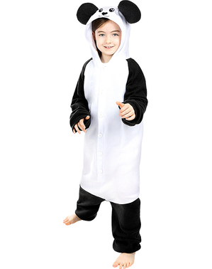 Strój Onesie Panda dla dzieci
