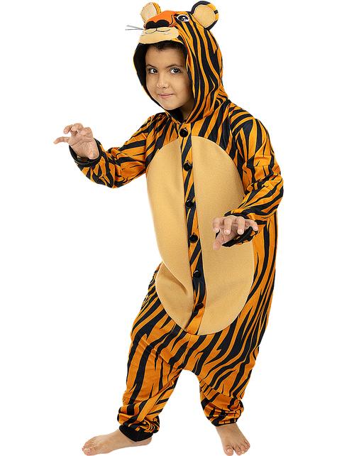 Déguisement tigre onesie enfant
