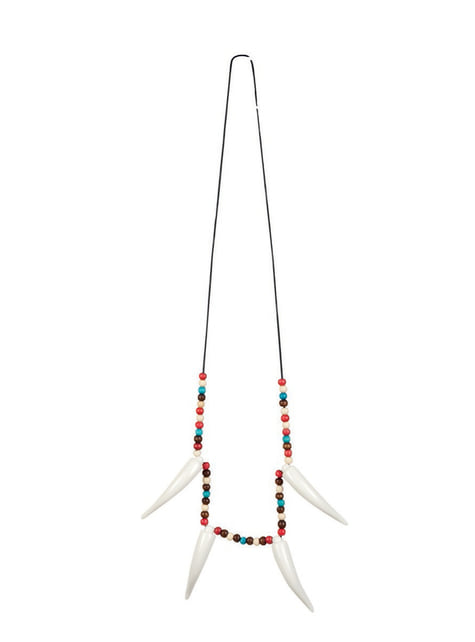 Adult's Indian Tusk Necklace