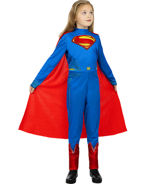 Superman Costume for Girls - Justice League
