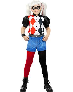 Fato de Harley Quinn para menina