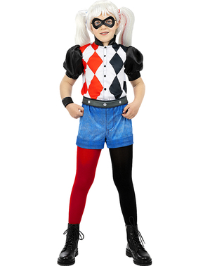 Harley Quinn kostuum voor meisjes
