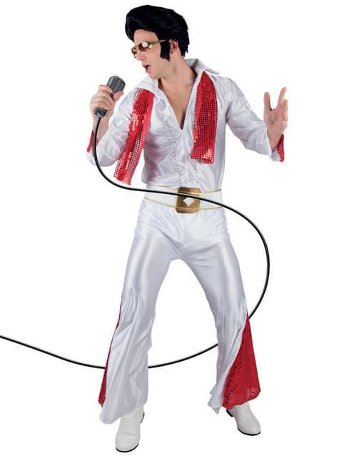 Disfraz años 50 de rey del rock and roll