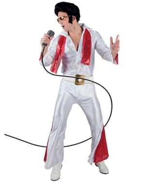 Kongen av Rock n' Roll Kostyme Mann