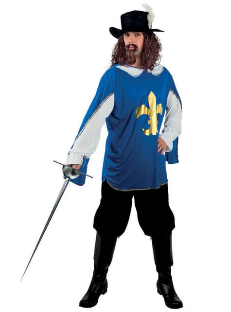 Disfraz de mosquetero de la orden para hombre