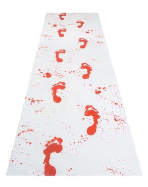 Bloody Footsteps Rug