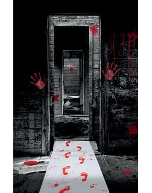 Tapis pieds en sang