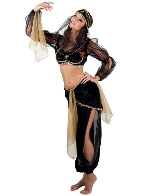 Belly Dancer Costume for Women in Black