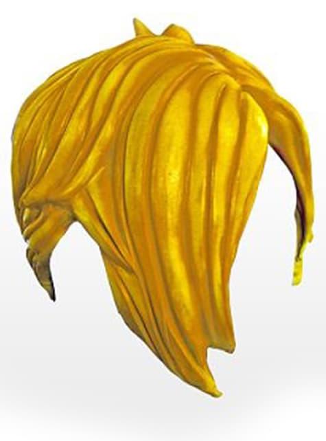 Yellow Halloween Emo Wig