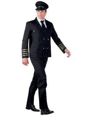 Men's Elegant Pilot Costume