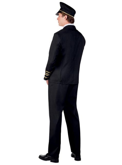 Disfraz de piloto elegante para hombre - hombre