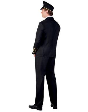Чоловічий елегантний пілотський костюм