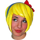 Peluca Anime Wig 5 Yellow Halloween
