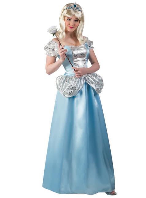 Disfraz de princesa del zapato perdido para mujer