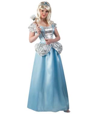 Verloren schoen Prinsessen kostuum voor vrouw