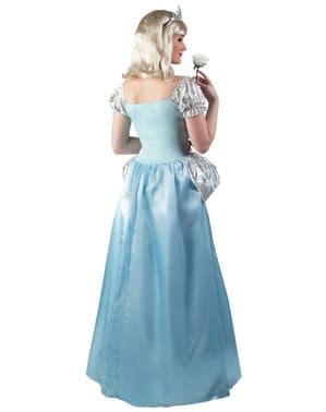 Fato de princesa do sapato perdido para mulher