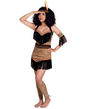 Costum de indiană squaw pentru femeie