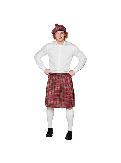Falda escocesa para hombre