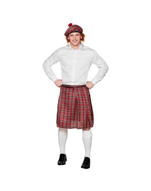 Gonna scozzese uomo