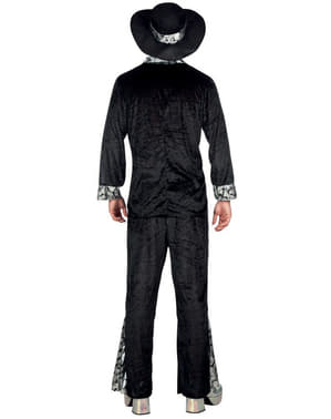 Disfraz de Pimp negro para hombre