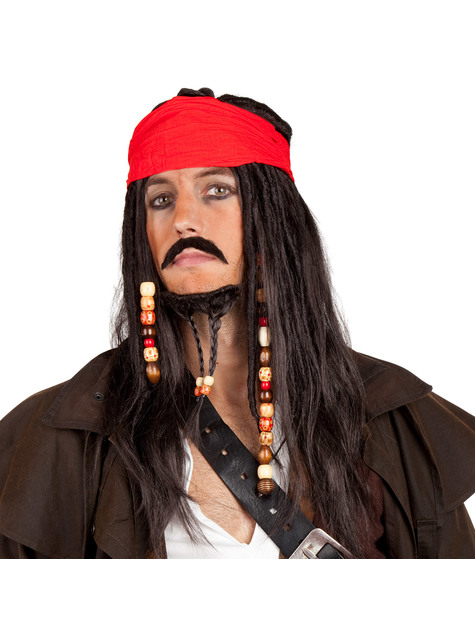 Mens Tobias Пиратский набор аксессуаров