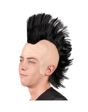 Пънк Mohawk перука