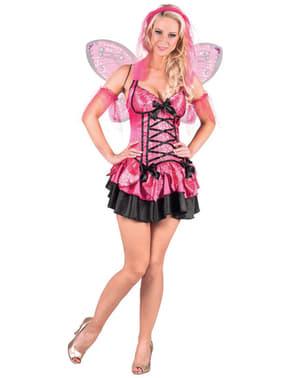 Costum de zână roz pentru femeie