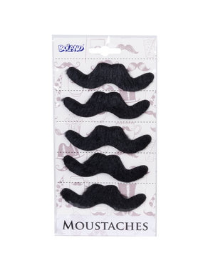 Set de 6 bigotes mexicanos para hombre