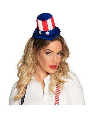 Mini cappello da Zio Sam per donna