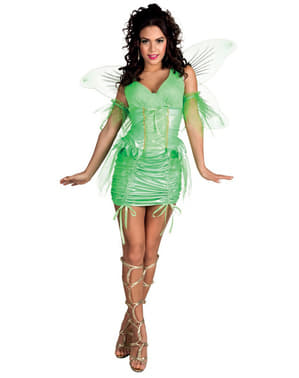 Woman's Green Fairy Costume
