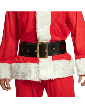 Men's Wide Father Christmas Belt