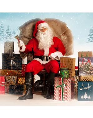 Centură Moș Crăciun lată pentru bărbat