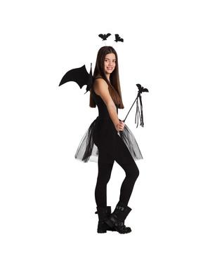 Kit de morcego coquete para mulher