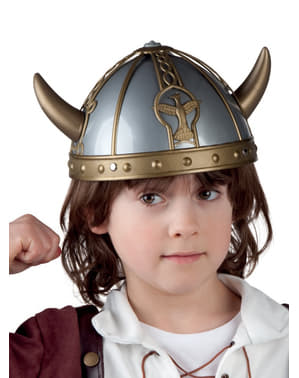 Capacete de viking forte infantil