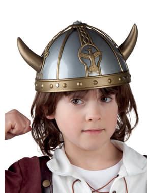 Casco de vikingo fuerte infantil