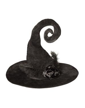 Originální dámský čarodějnický klobouk