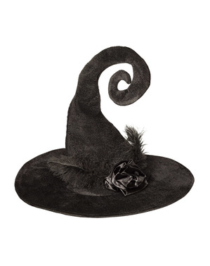 Woman's Inventive Witch Hat