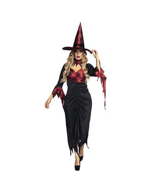 Costume da strega tenebrosa per donna