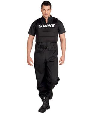 Férfi SWAT Tiszt jelmez