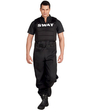 Man's SWAT Officer Costume