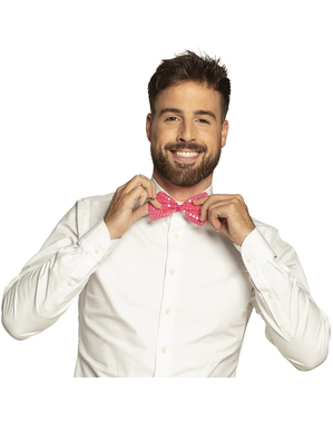 Рожевий паєтка цибулі краваток для дорослих
