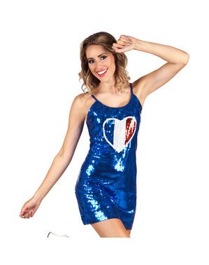 Sexy Französin Kleid für Damen
