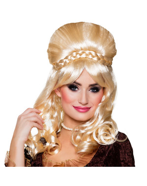 Wiktoriańska Peruka blond dla kobiet